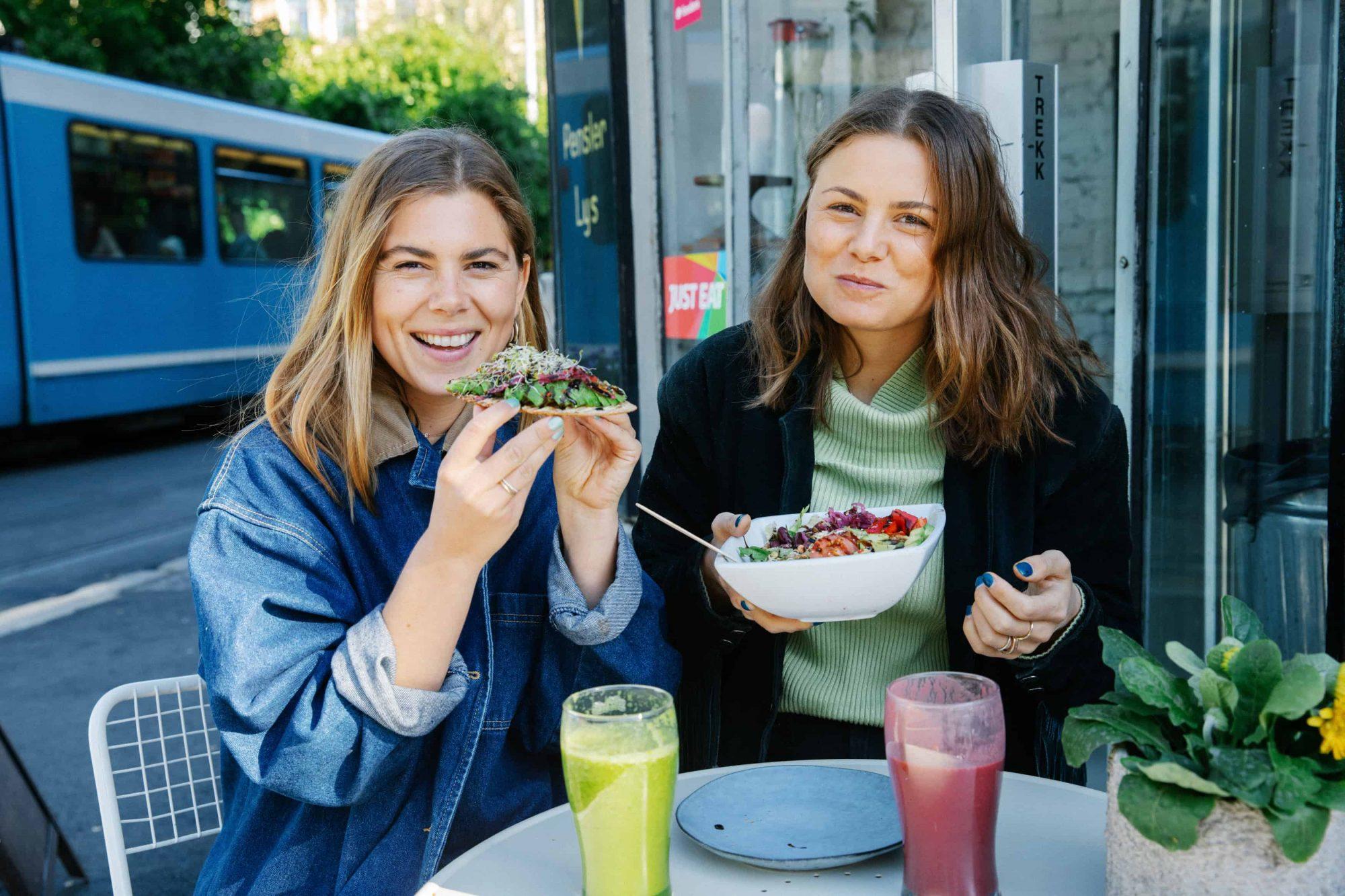 Mat er mye av hverdagen. Foto: Julie Hrncirova