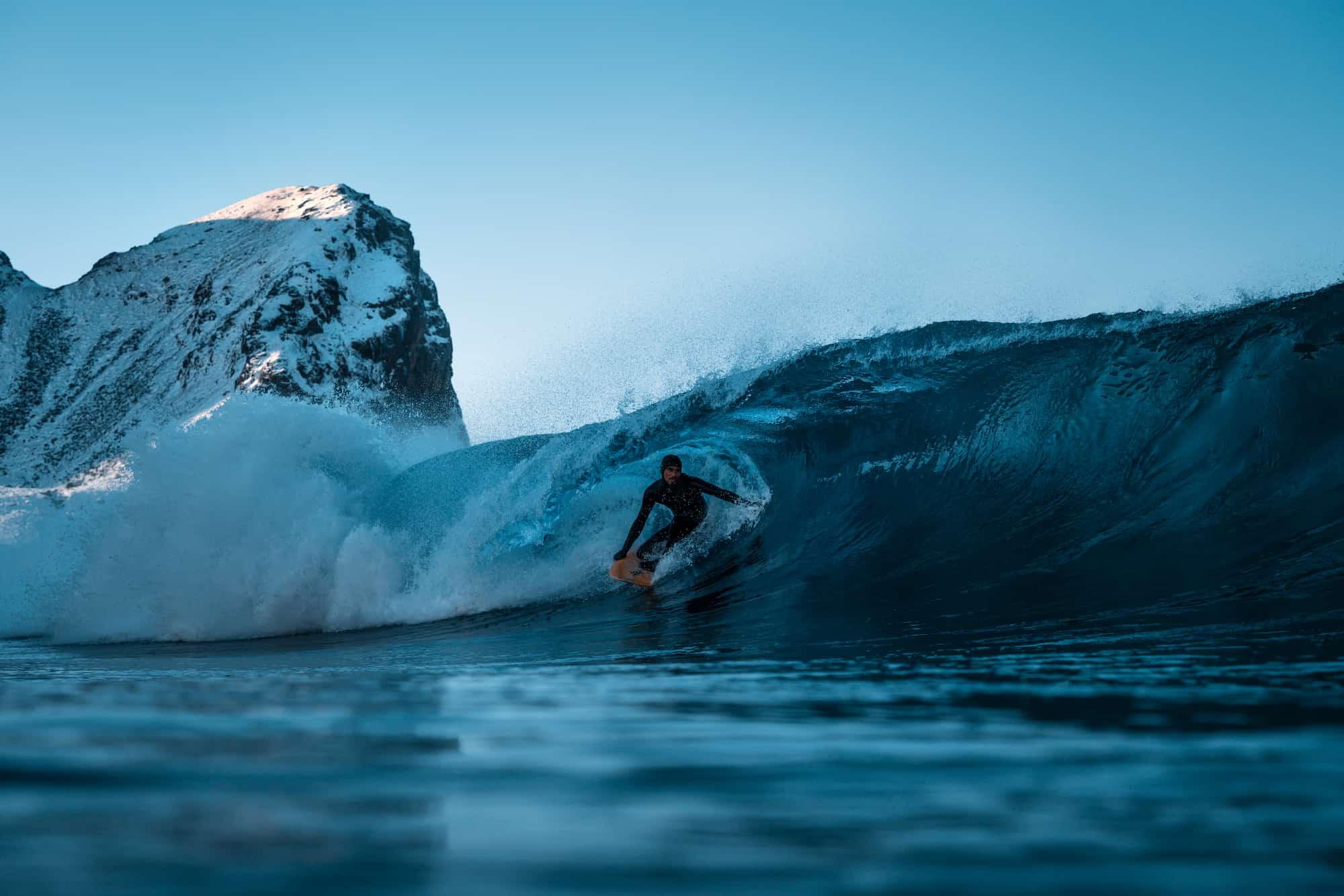 Marlon Gerber i en perfekt iskald tube