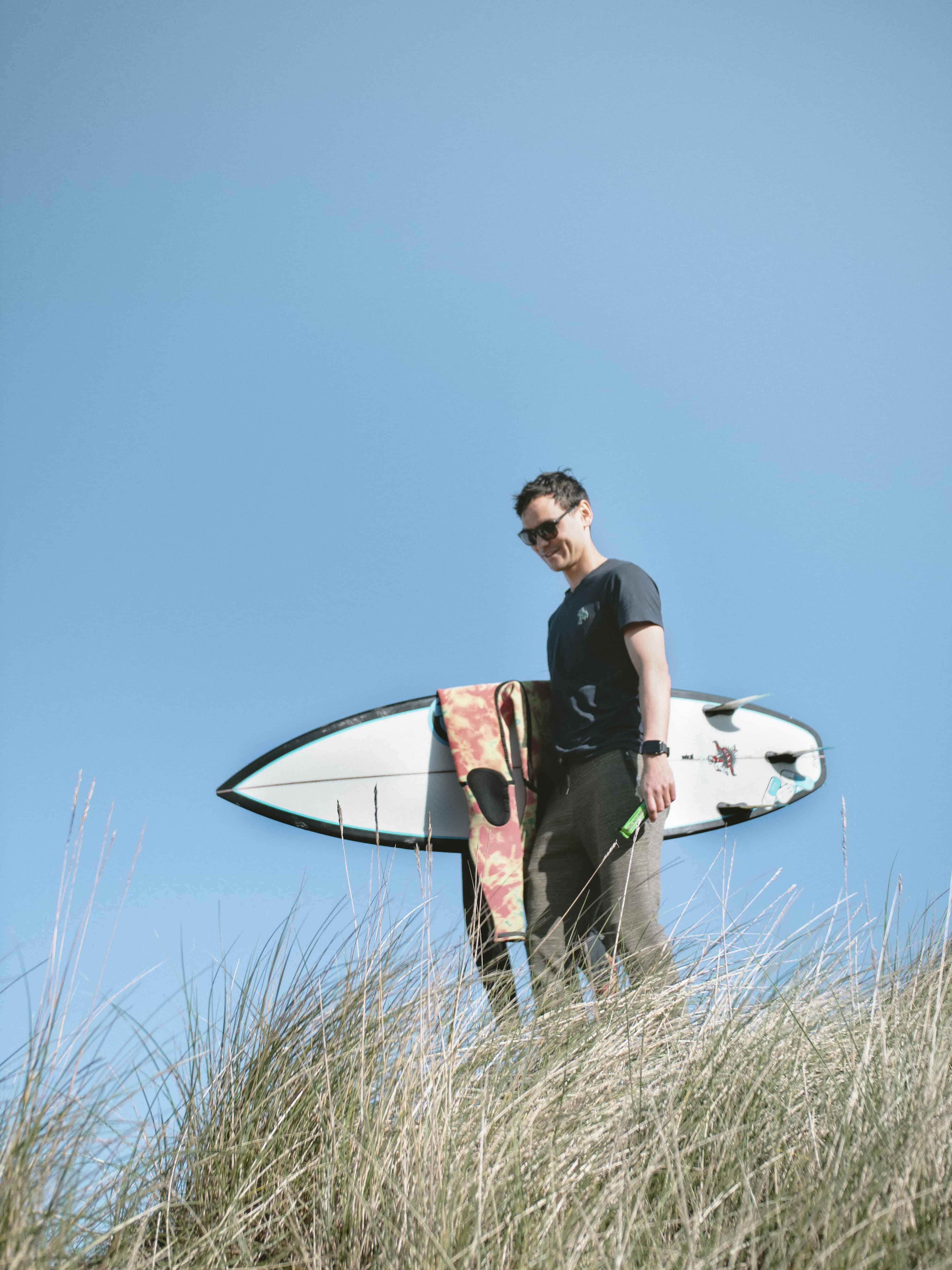 Må bare elske sommer og surf. Foto: Magnus Nordmo