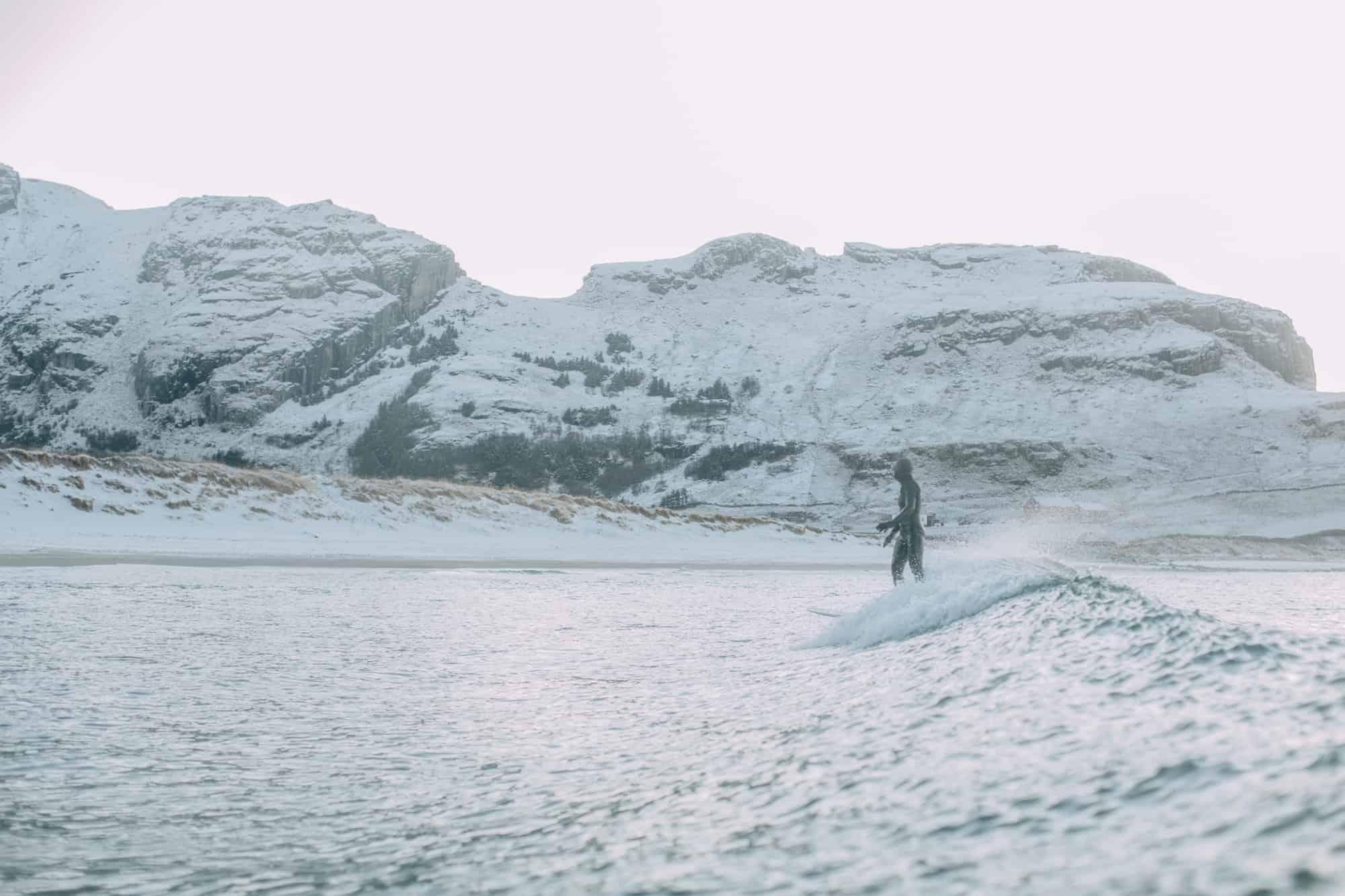 Ildsjeler i vinterland – En bildespesial fra surfing på Stad