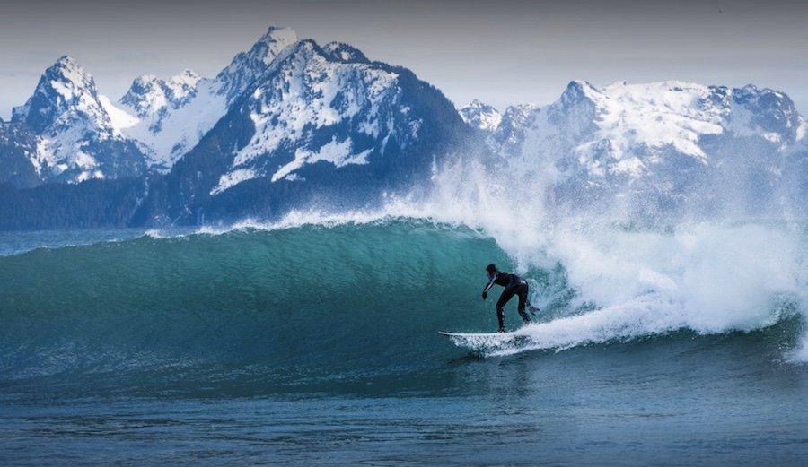 Surf i Alaska