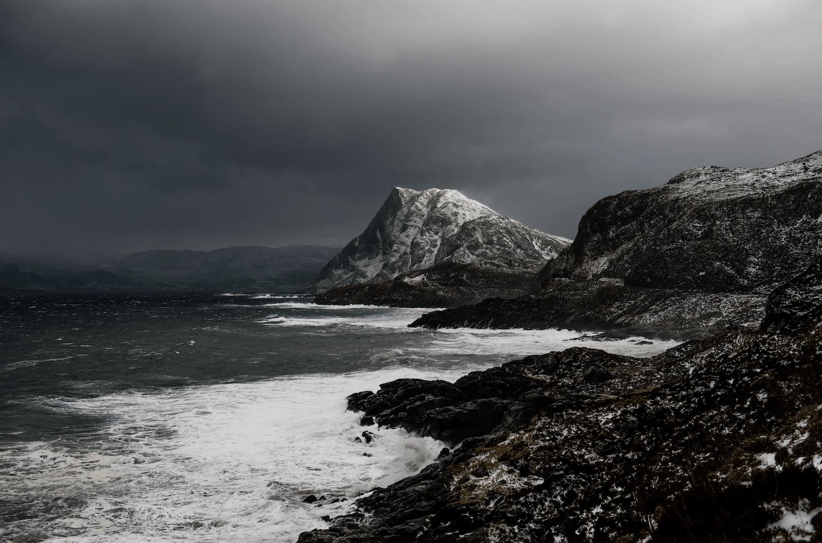 fjell og kystlandskap