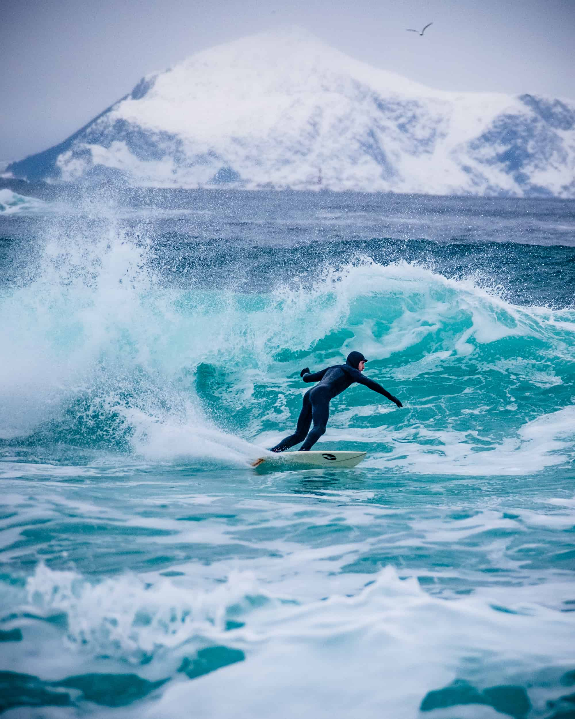 Surfing i Ålesund