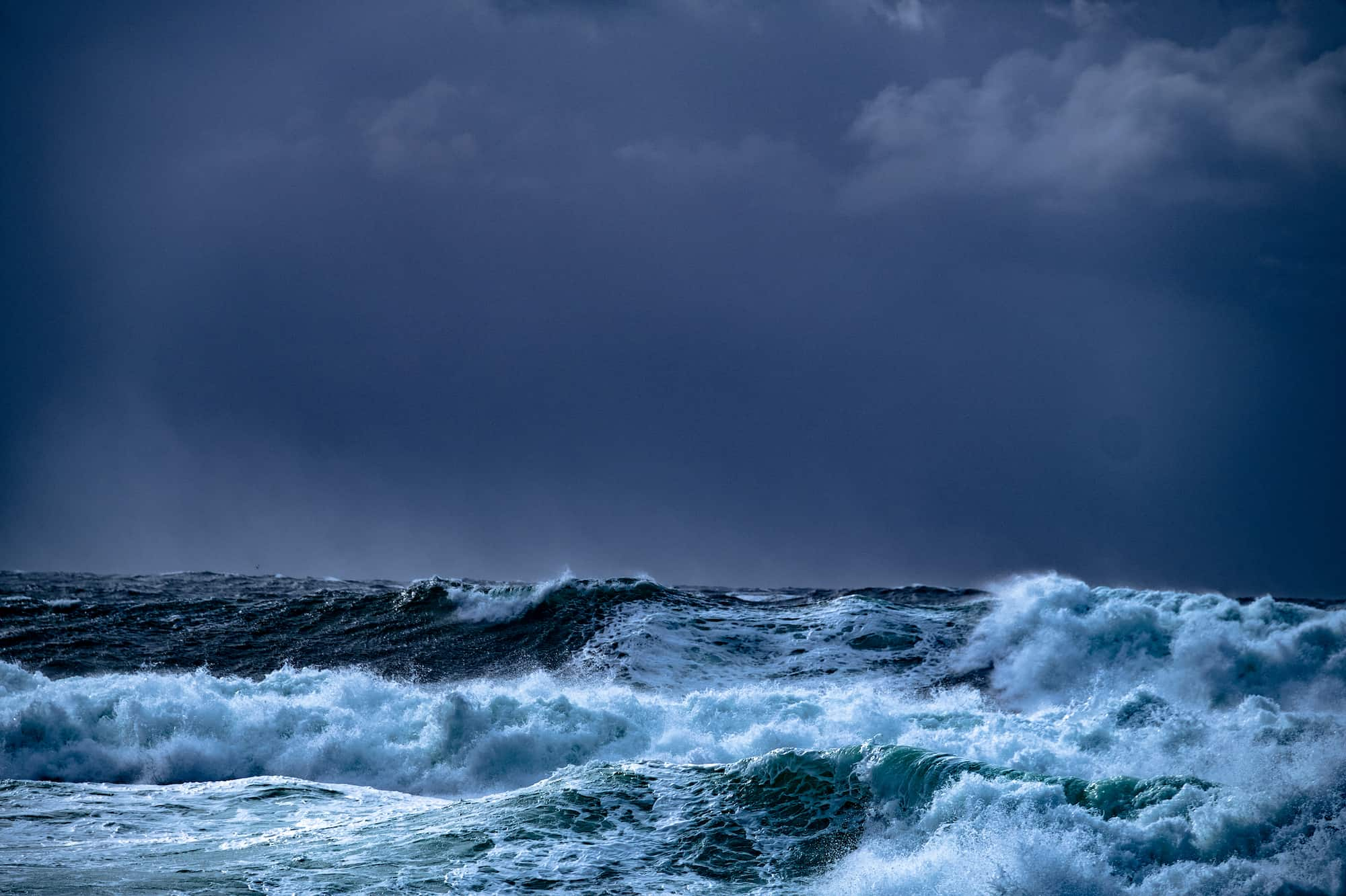Ålesund i storm