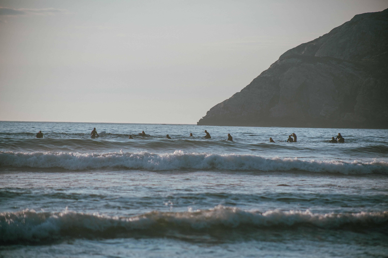 Poppis surfespot i mai. Foto: Emilie Mong