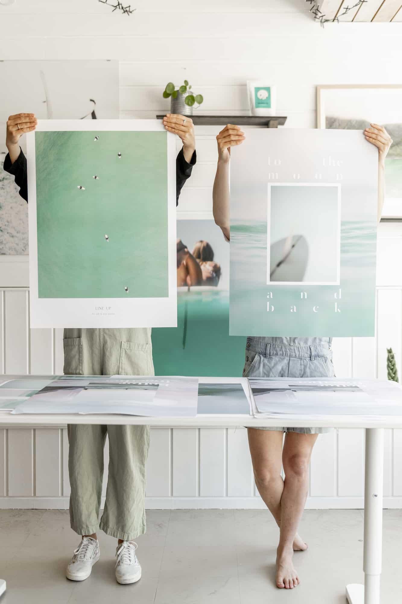Surffoto til print hos Saltnwax