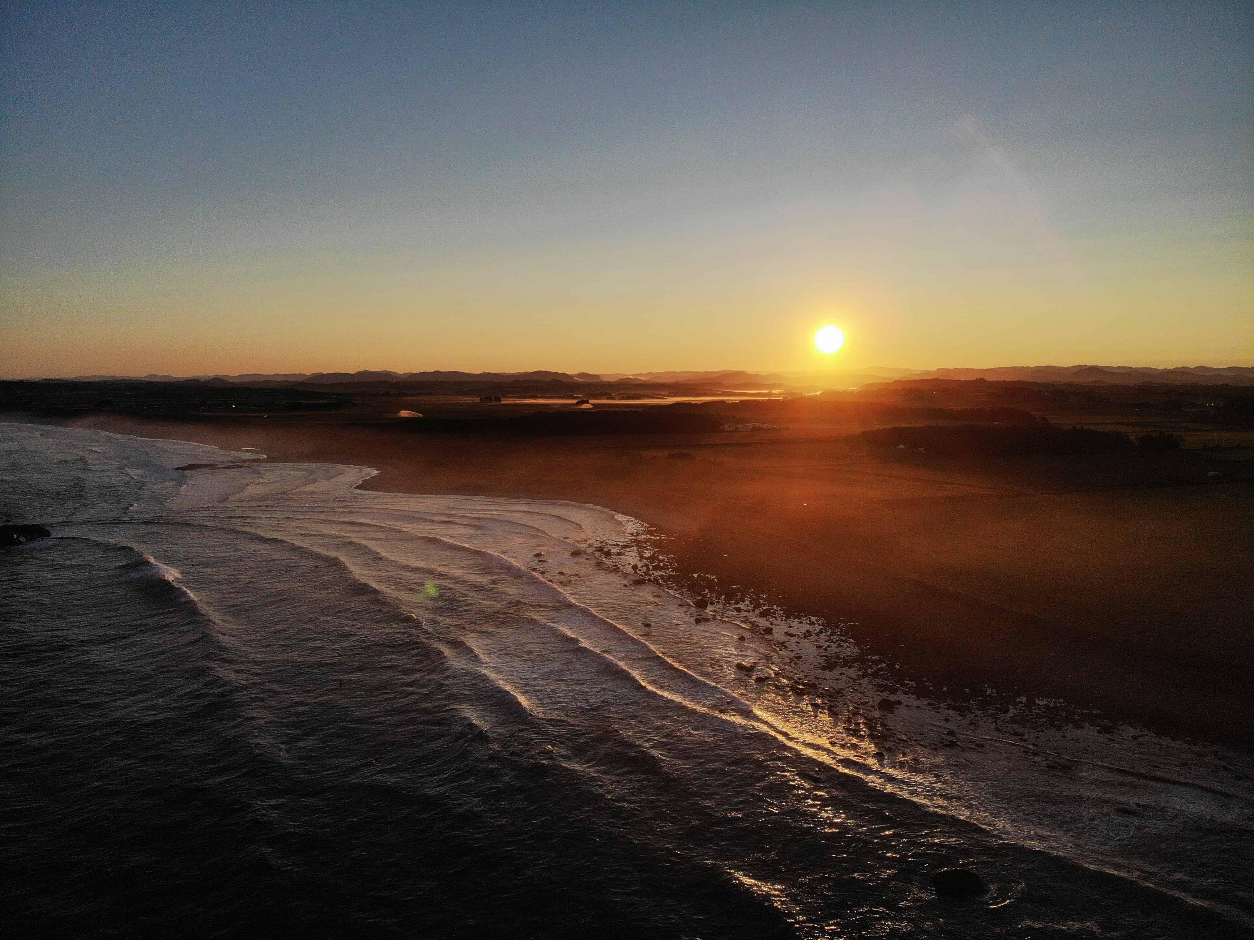 Jærsk solnedgang. Foto: Valentin Launay